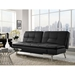 Malibu Modern Black Sleeper Sofa