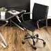 Manchester Contemporary Office Chair in Black