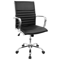 Manchester Modern Office Chair in Black