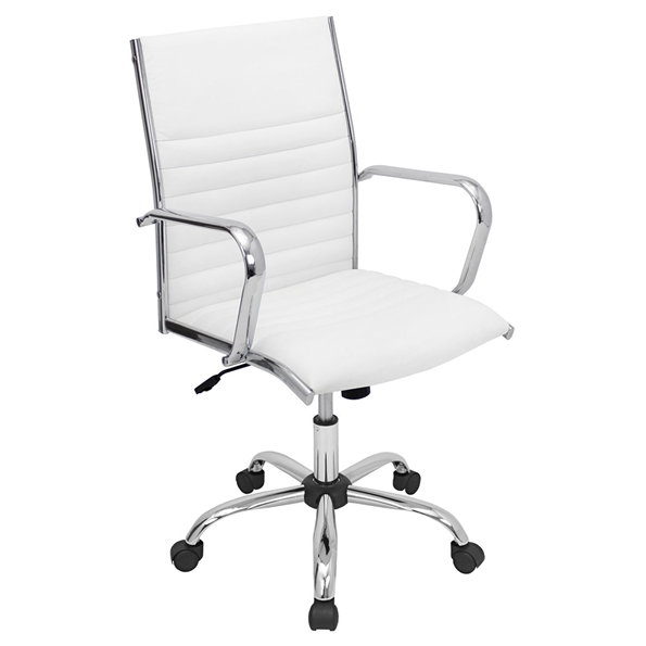 Manchester Modern Office Chair in White