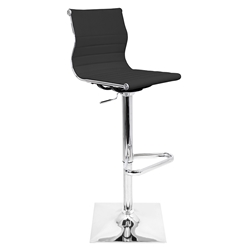 Manheim Modern Black Adjustable Stool