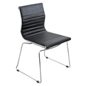 Manheim Black Modern Side Chair