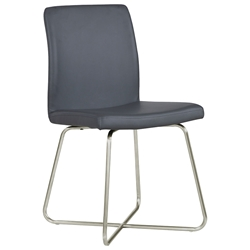 Mansfield Modern Gray Dining Chair