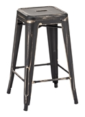 Marius Set of 2 Contemporary Counter Stools