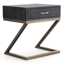Marazzi Modern Side Table + Nightstand