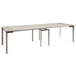 Marcia Taupe Modern Extension Dining + Console Table
