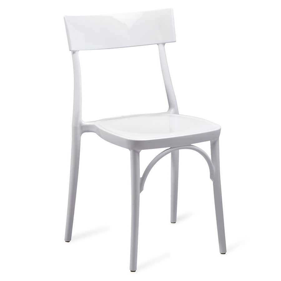 Marco White Modern Side Chair