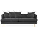Gus Modern Margot Sofa in Oxford Zinc Fabric