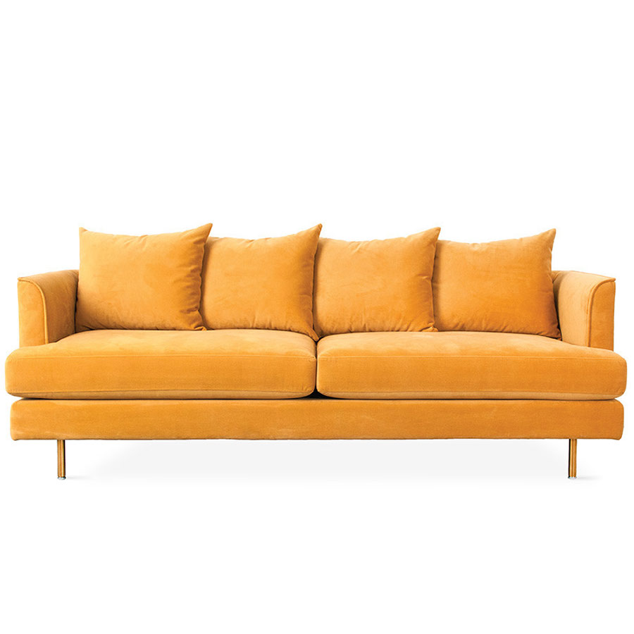 Gus Modern Margot Sofa Velvet Goldleaf Eurway