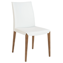 Maricella White Modern Dining Chair