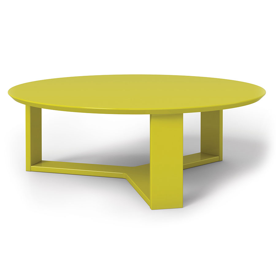 Call To Order Markel Modern Yellow Coffee Table