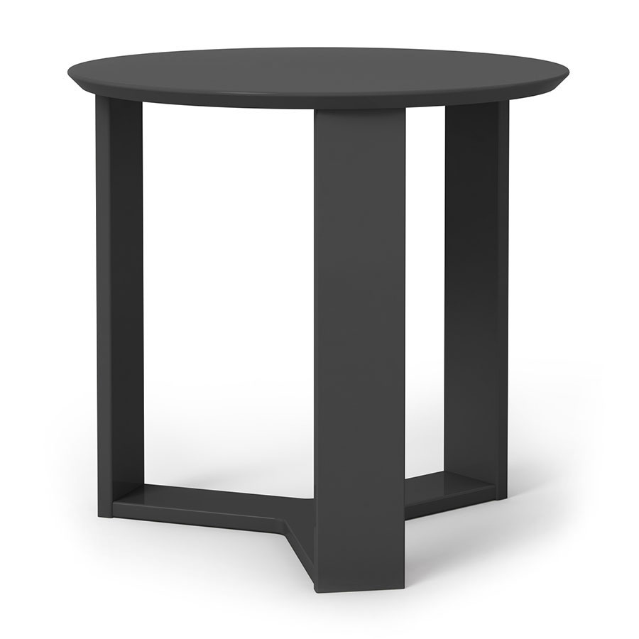 Markel Modern Black End Table