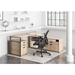 Marlin Modern Natural-Colored Office Set