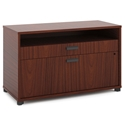 Marlin Modern Chestnut Lateral File Center