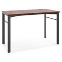 Marlin Modern 48 Inch Desk in Chestnut