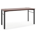 Marlin Modern 60 Inch Desk in Chestnut