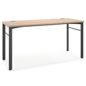 Marlin Modern 72 Inch Desk in Wheat