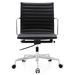 Marquis Black Leather Contemporary Office Chair