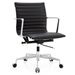 Marquis Black Leather Modern Office Chair