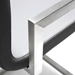 Marshall Modern Gray Counter Stool - Arm Detail