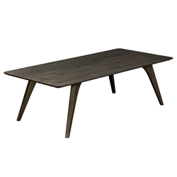 Martin Modern Rectangular Strata Nantucket Cocktail Table by Saloom