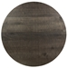 Martin Modern Round Etched Nantucket Cocktail Table by Saloom - Top View