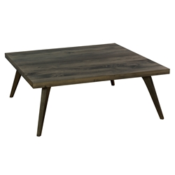 Martin Modern Square Nantucket Cocktail Table by Saloom