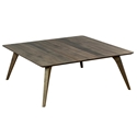 Martin Modern Square Strata Nantucket Cocktail Table by Saloom