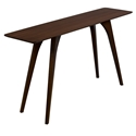 Martin Modern Strata Walnut Console Table by Saloom