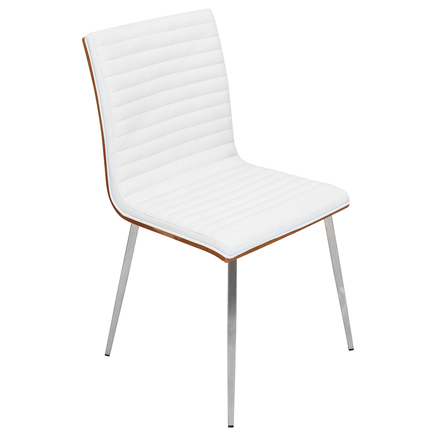call to order · marvin modern dining chair in white  walnut. marvin modern white dining chair  eurway modern