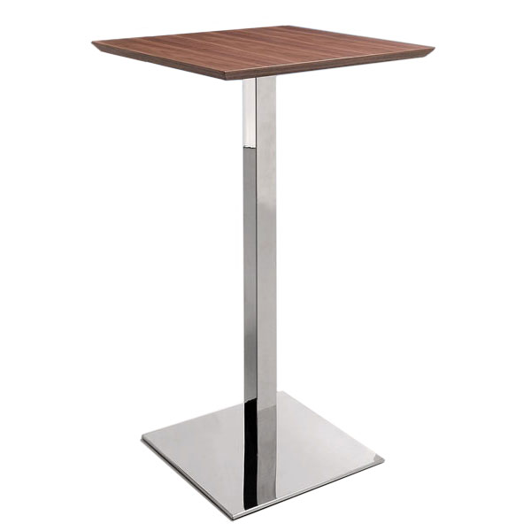 mason contemporary walnut bar table
