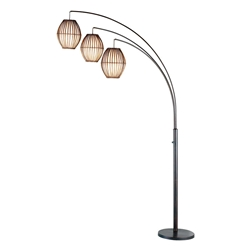 Madden Modern Metal Arc Lamp