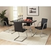 Maxwell Chrome Contemporary Dining Chair