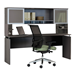 "Maya 72"" x 20"" Modern Desk With Hutch"
