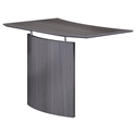 Maya Modern Right-Hand Bridge Desk Section