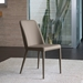 Maya Taupe Contemporary Dining Side Chair by Pezzan