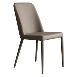 Maya Taupe Modern Dining Side Chair by Pezzan