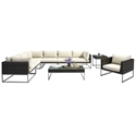 Meachem Modern Outdoor Furniture Set