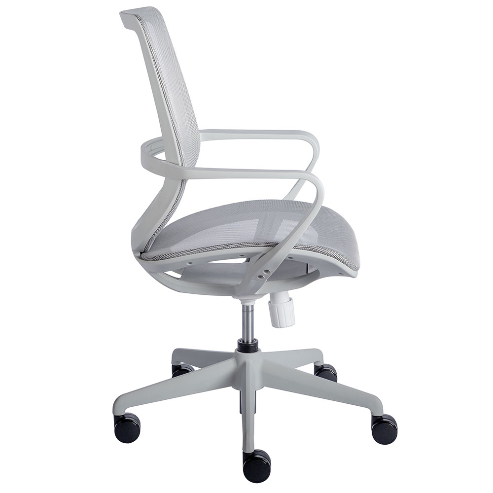 Megan Modern Gray Office Chair By Euro Style Eurway
