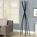 Megann Contemporary Black Coat Rack