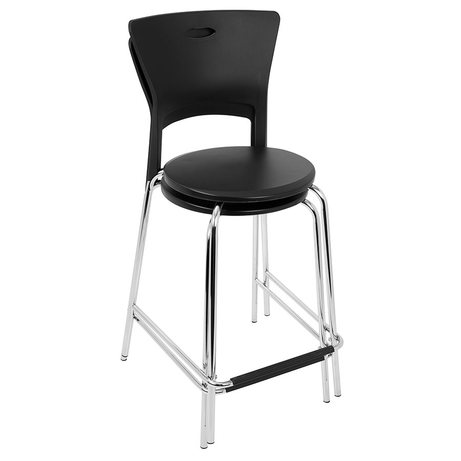 Modern Stools | Melody Black Counter Stool | Eurway