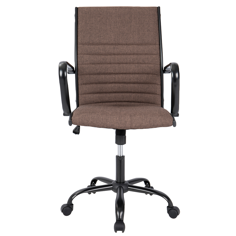 Mencken Brown Contemporary Office Chair