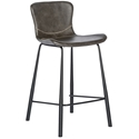 Mercer Modern Counter Stool in Dark Gray
