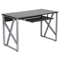 Merrill Modern Desk with Keyboard Tray