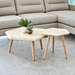 Metric Coffee + End Tables by Gus* Modern