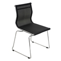 Midland Black Modern Side Chair