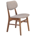 Midtown Modern Dining Chair in Dove Gray