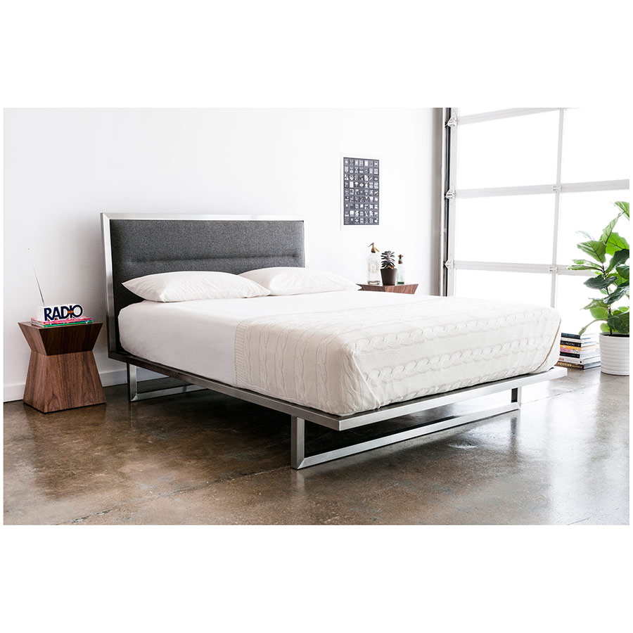 Midway Contemporary Bed by Gus Modern