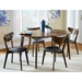 Milam Modern Oval Extension Dining Table