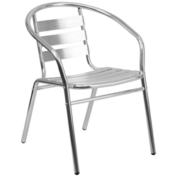 Milan Modern Indoor/Outdoor Dining Chair